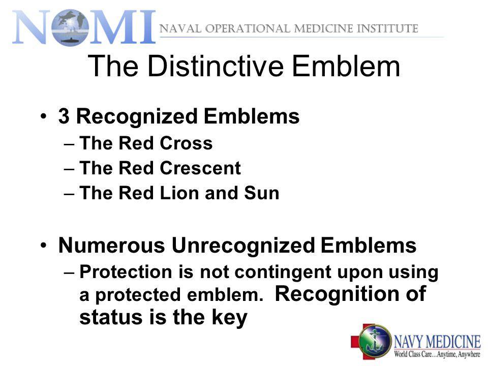 The Distinctive Emblem