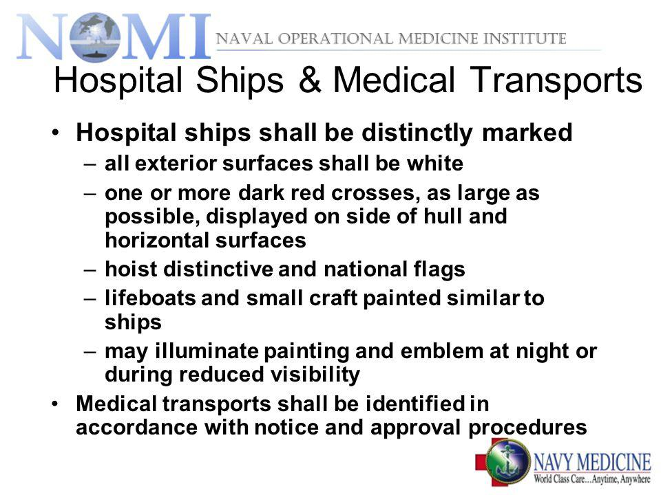 Hospital Ships & Medical Transports