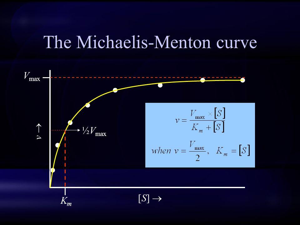 The Michaelis-Menton curve