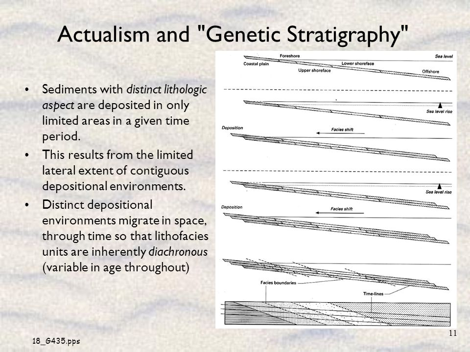 Actualism and Genetic Stratigraphy