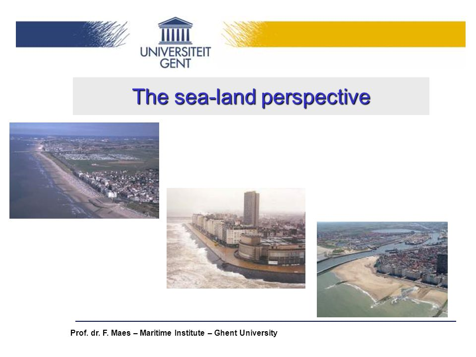 The sea-land perspective