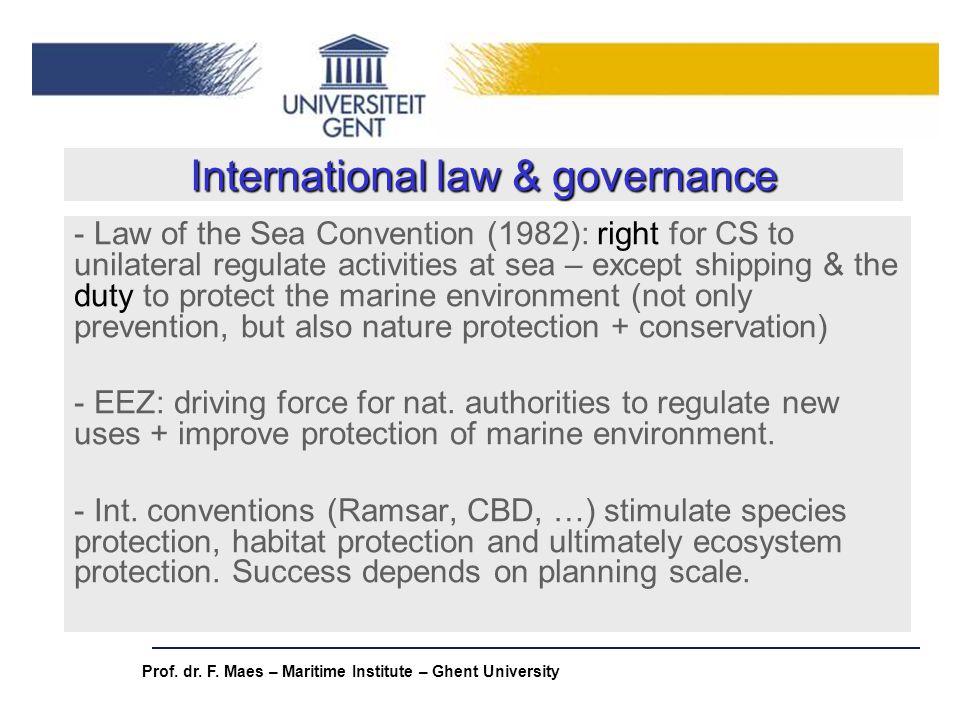 International law & governance