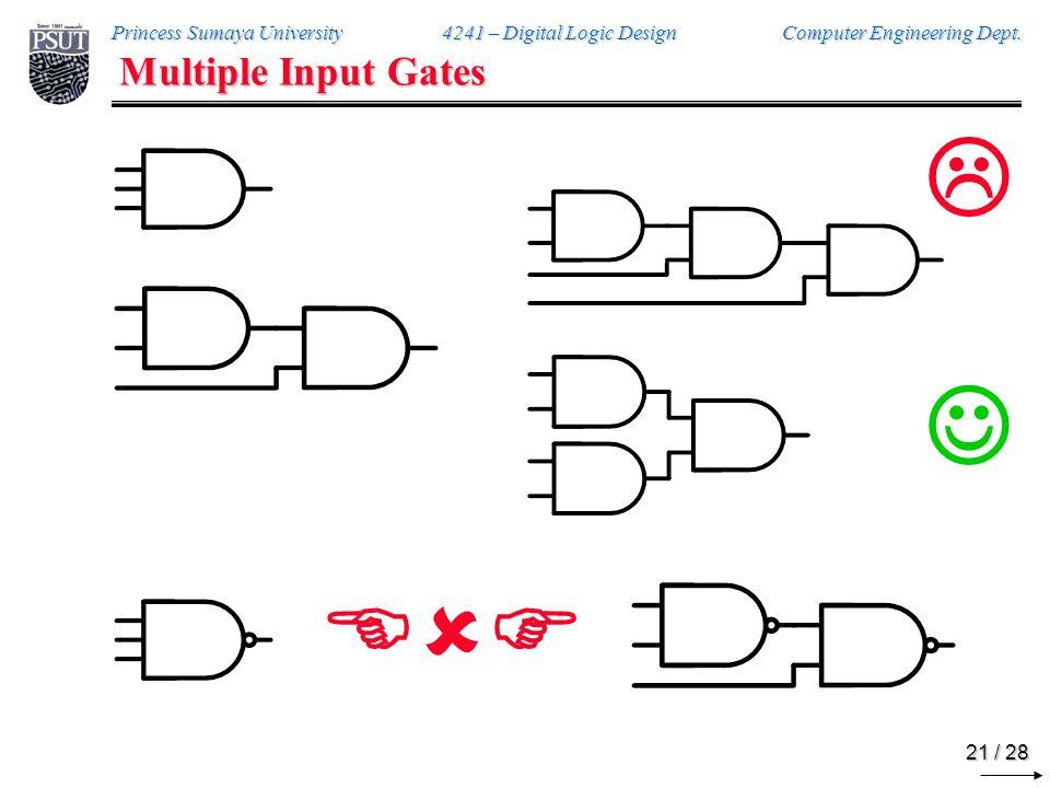 DeMorgan's Theorem on Gates