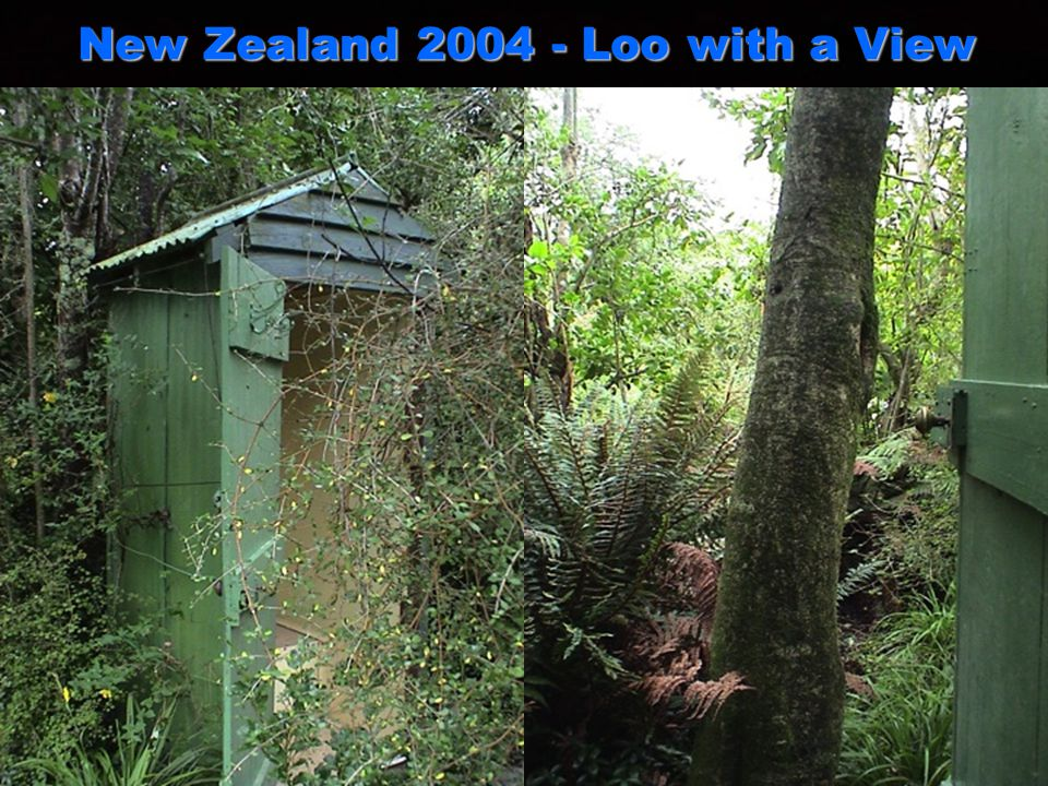 New Zealand 2004 - Loo with a View