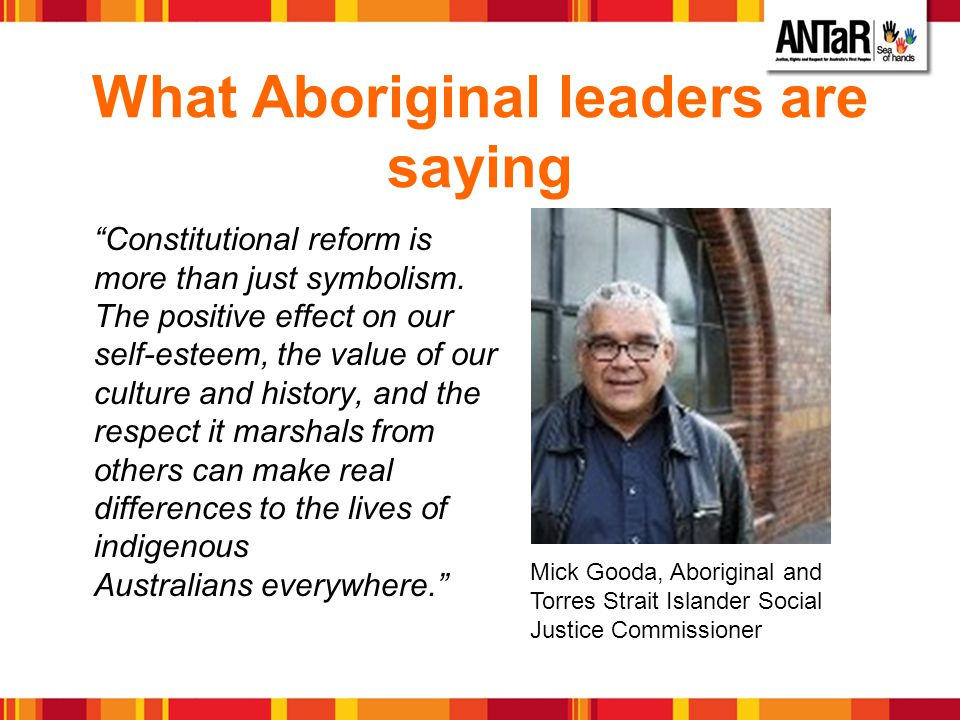 What Aboriginal leaders are saying