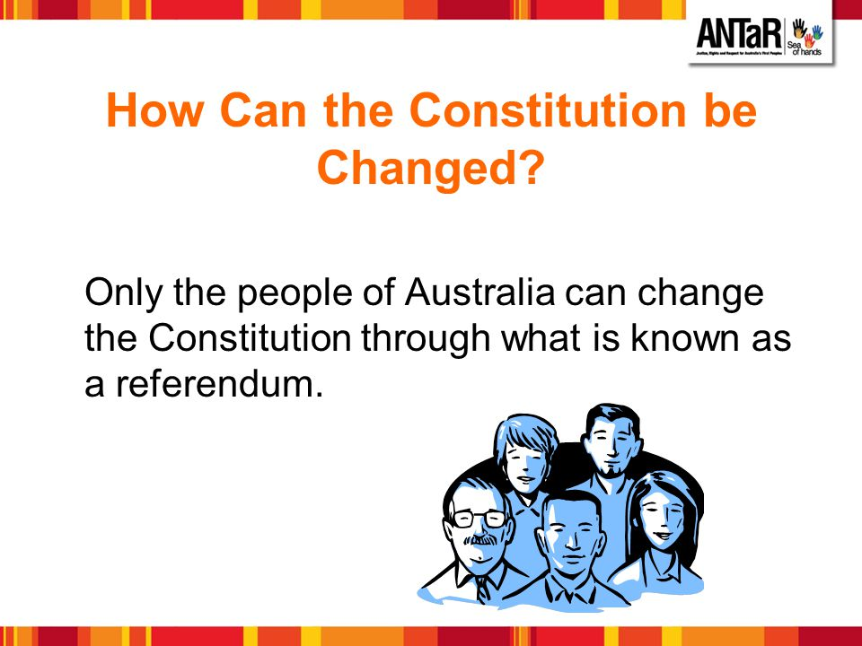 How Can the Constitution be Changed