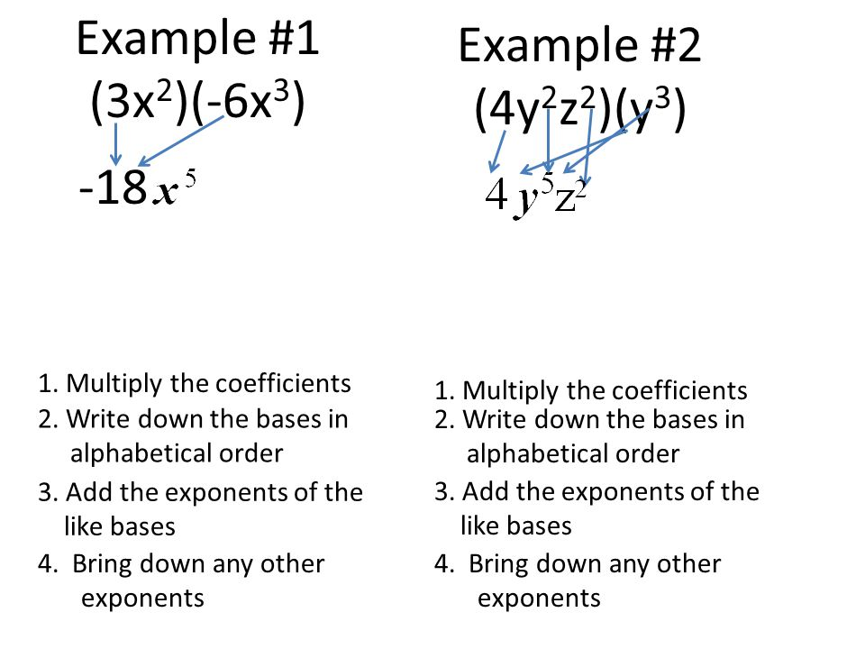 Raising Monomials to a Power Dividing Monomials ppt video online – Multiply and Divide Monomials Worksheet
