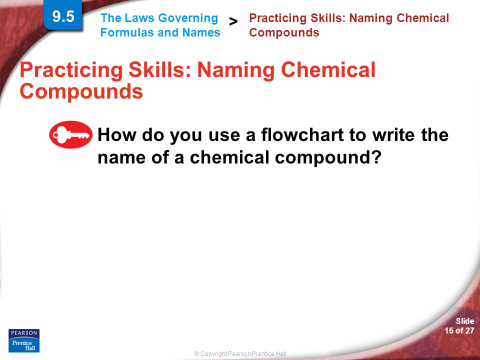 Practicing Skills: Naming Chemical Compounds