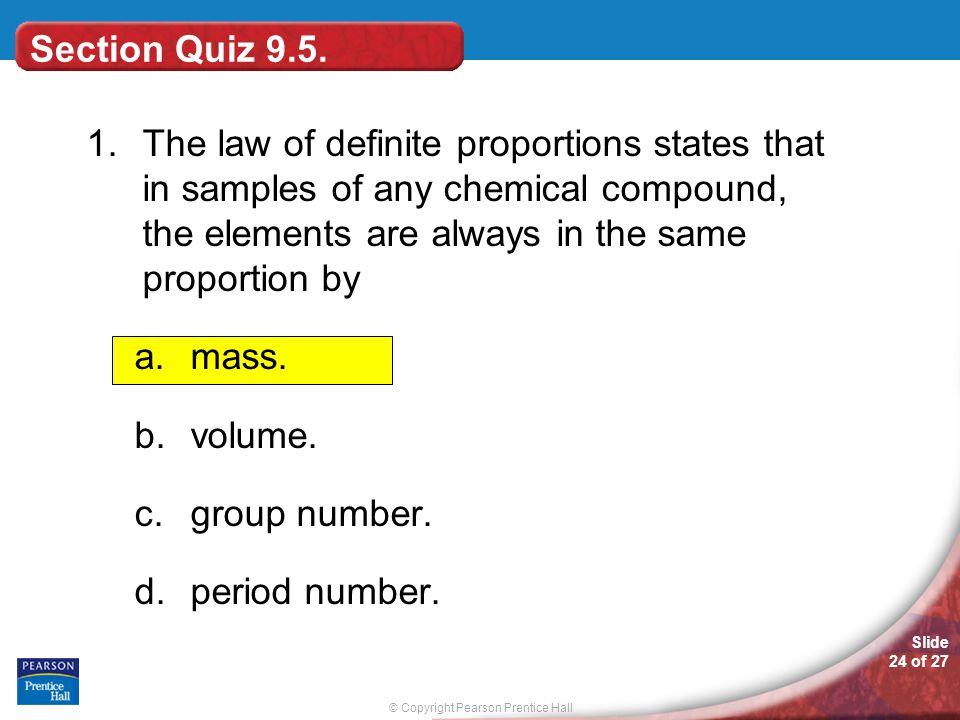Section Quiz 9.5.