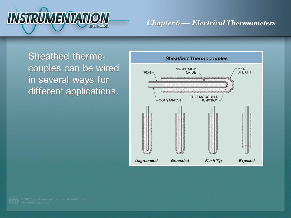 Sheathed thermo-couples can be wired in several ways for different applications.