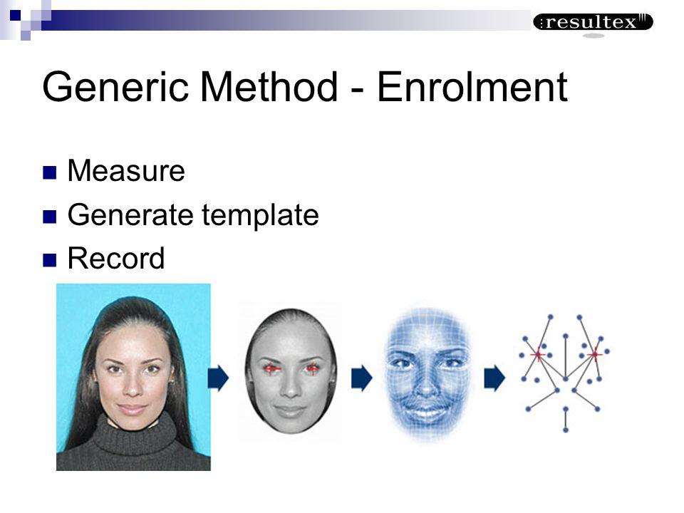Generic Method - Enrolment