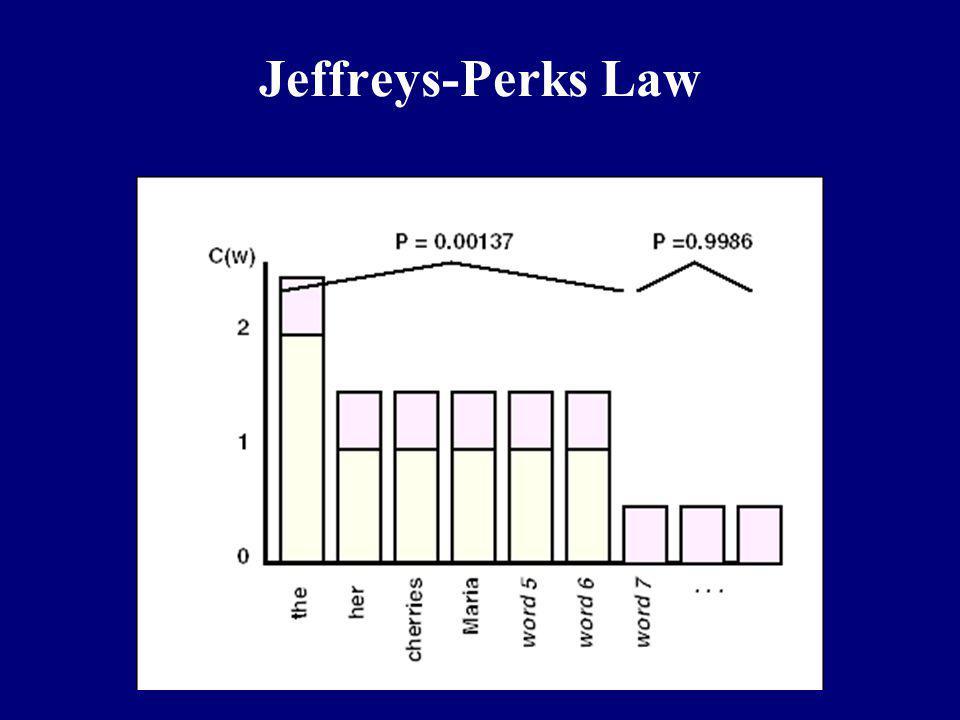 Jeffreys-Perks Law