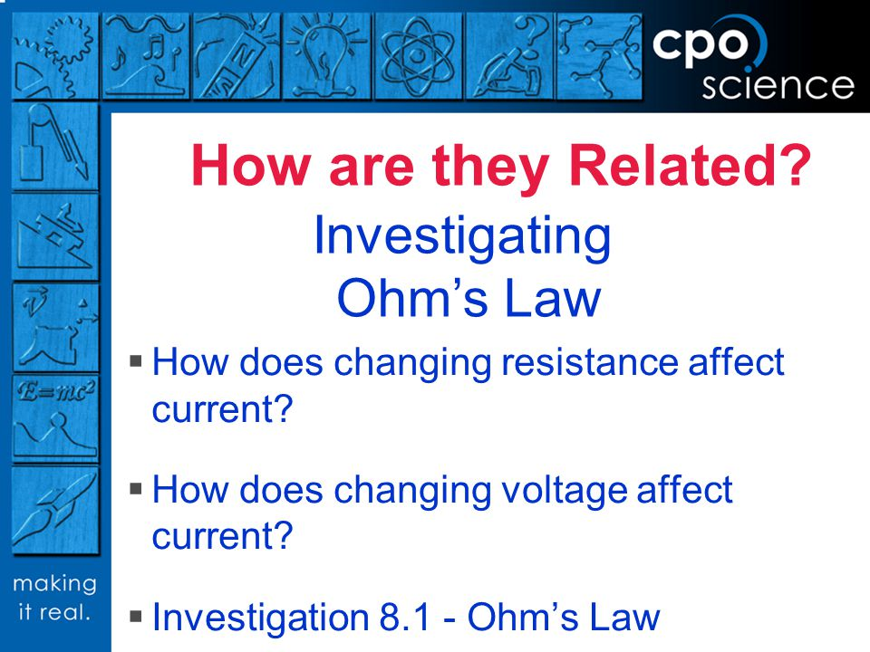 Investigating Ohm's Law