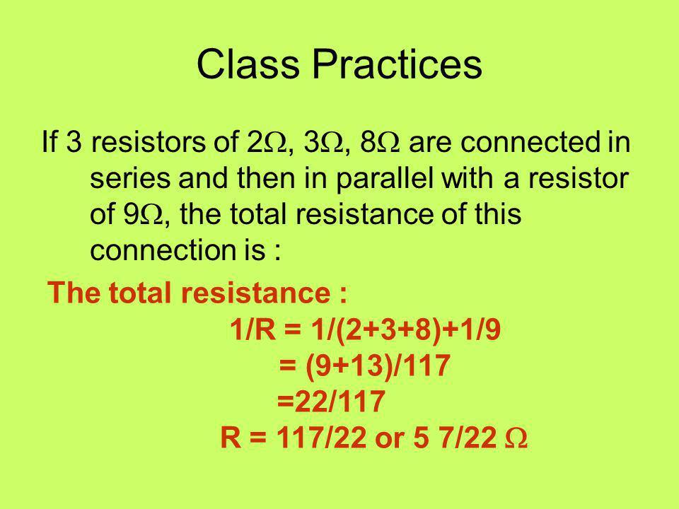 Class Practices