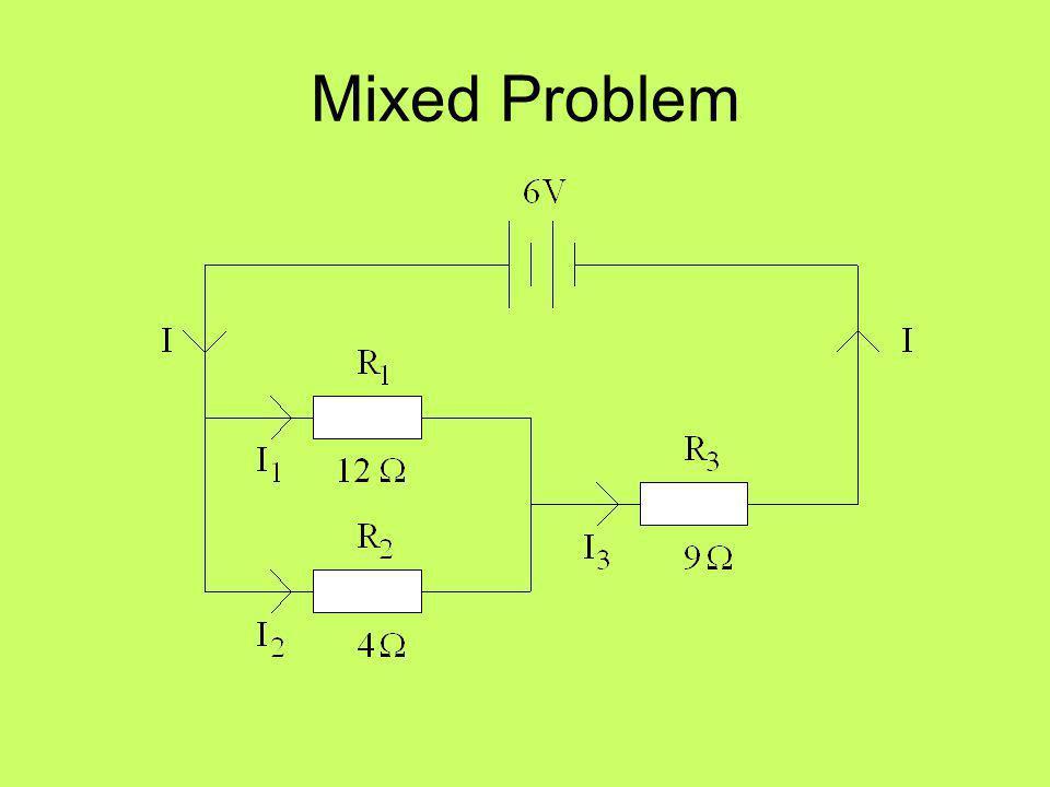 Mixed Problem