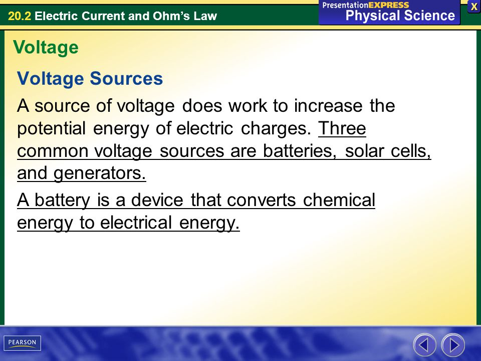 Voltage Voltage Sources.