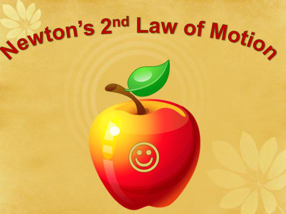 Newton's 2nd Law of Motion