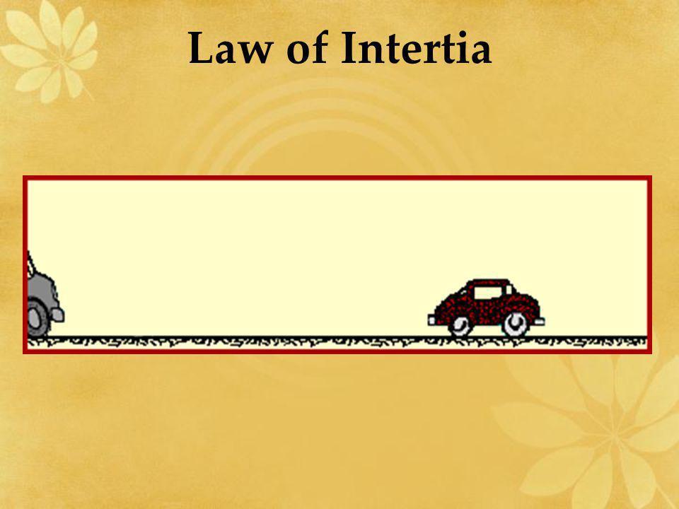 Law of Intertia