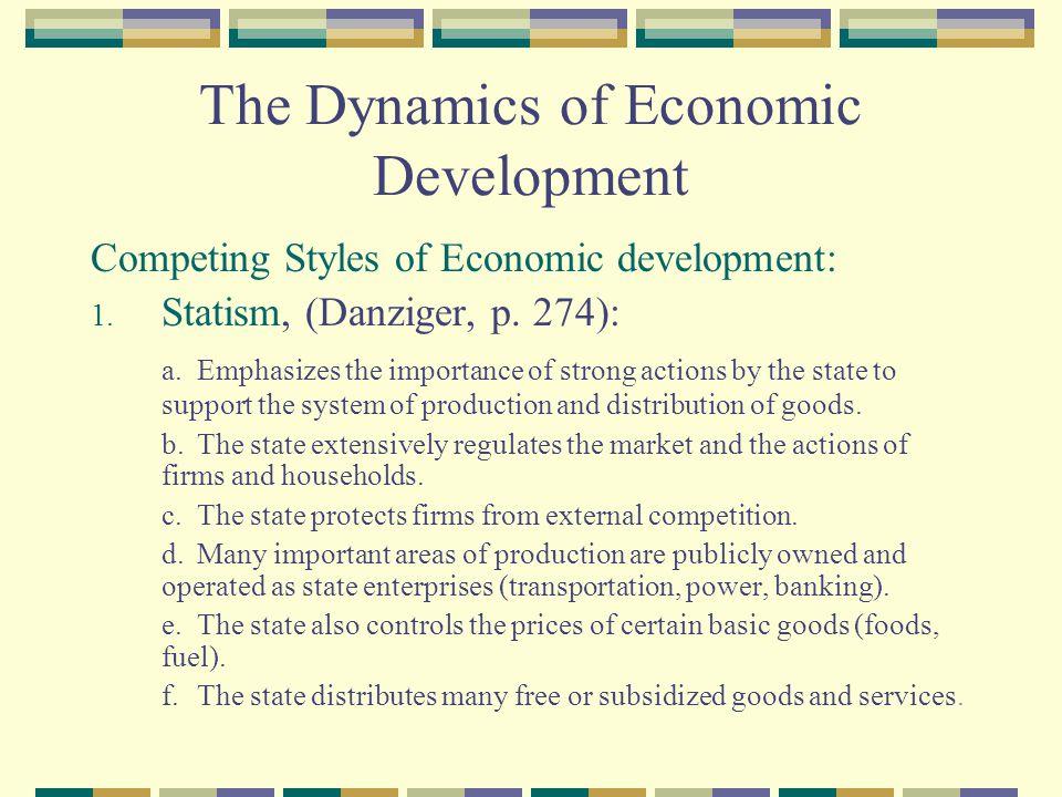 The Dynamics of Economic Development