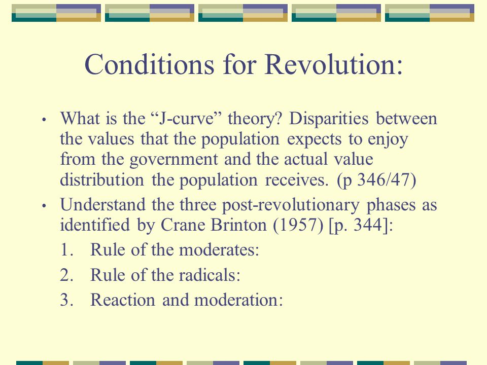 Conditions for Revolution: