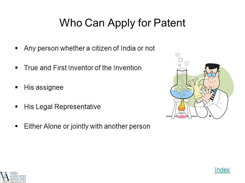 Who Can Apply for Patent