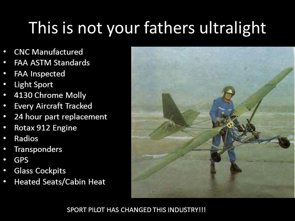 This is not your fathers ultralight
