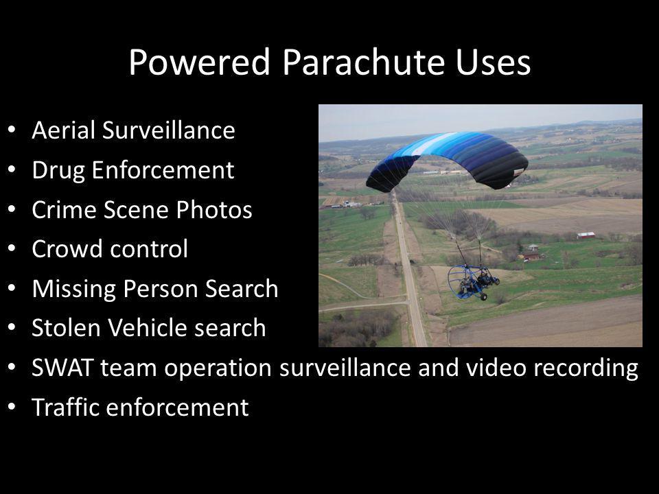 Powered Parachute Uses