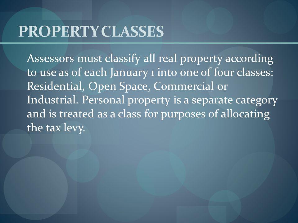 PROPERTY CLASSES