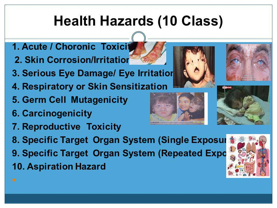 Health Hazards (10 Class)
