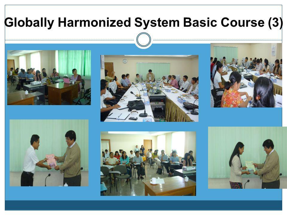 Globally Harmonized System Basic Course (3)