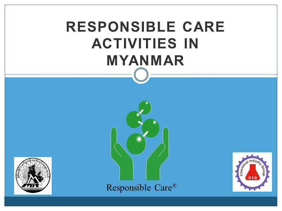 Responsible Care Activities in Myanmar