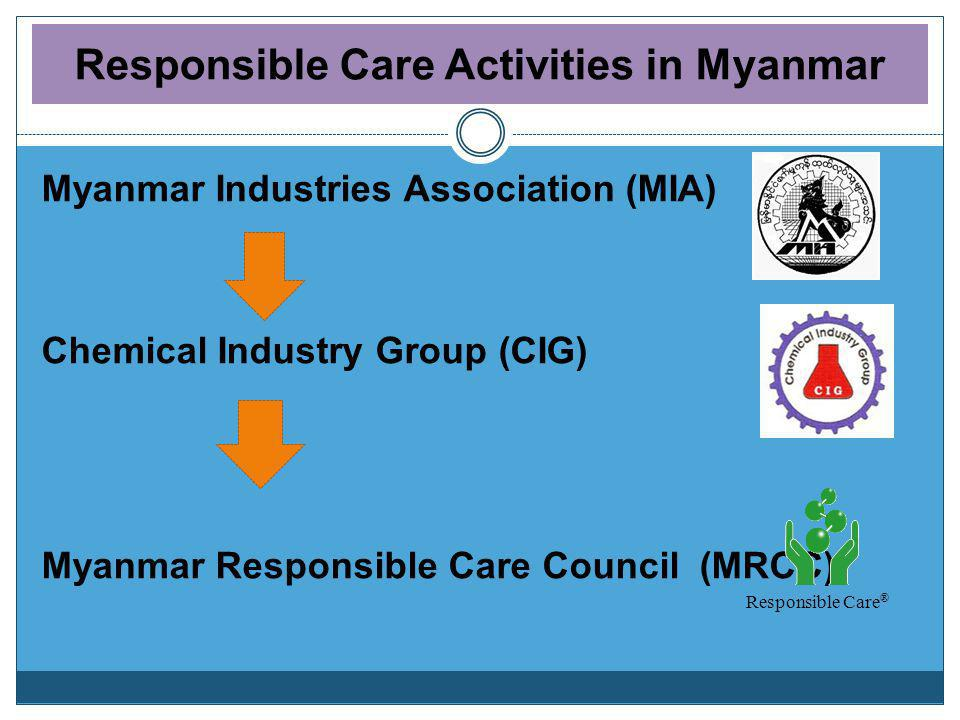 Responsible Care Activities in Myanmar