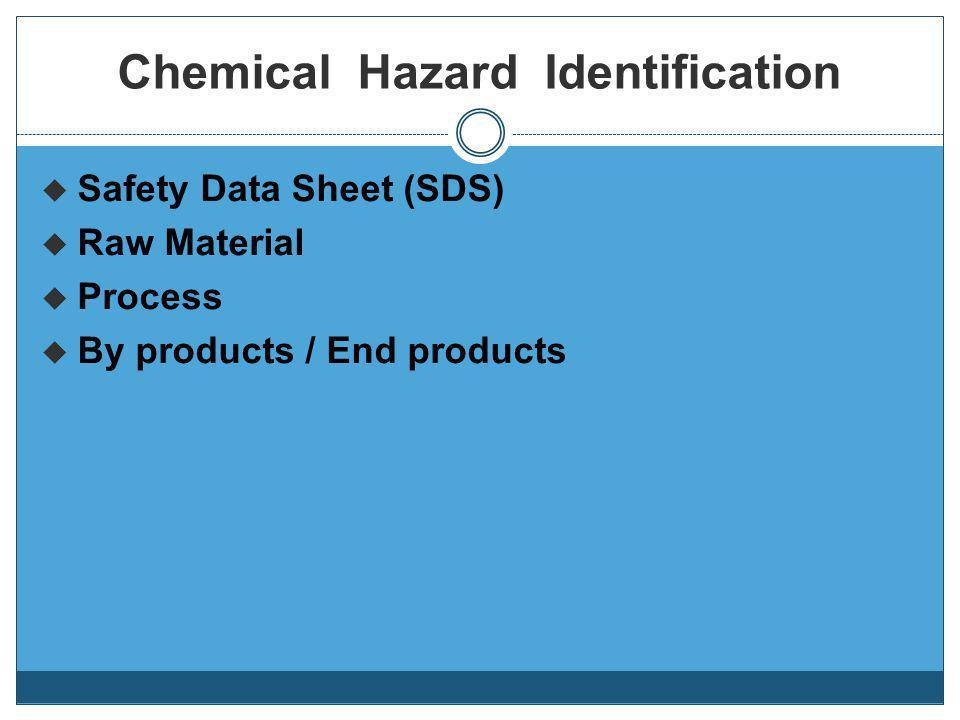 Chemical Hazard Identification