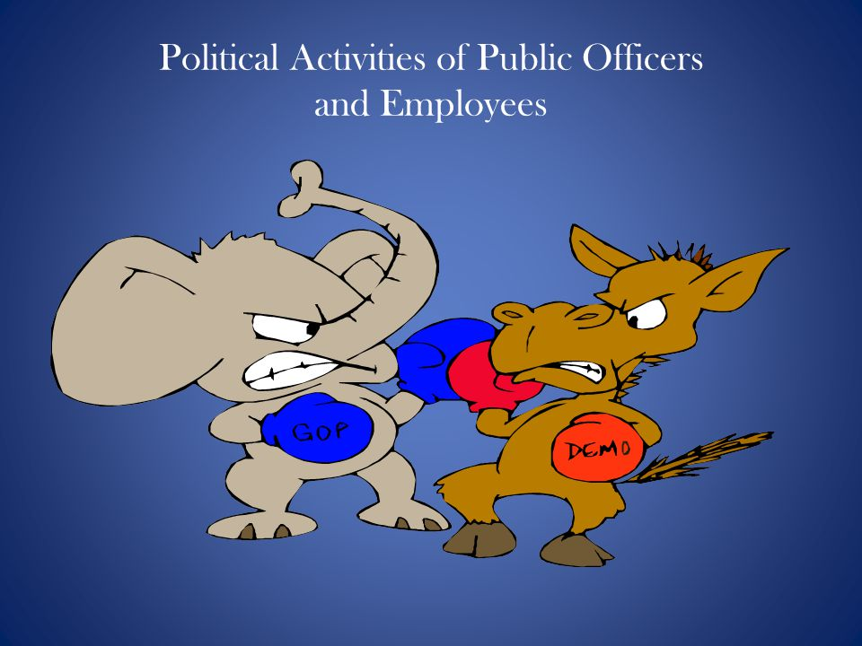 Political Activities of Public Officers and Employees