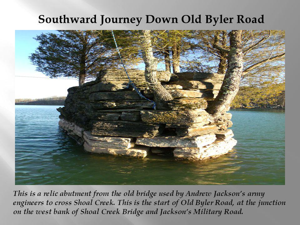 Southward Journey Down Old Byler Road