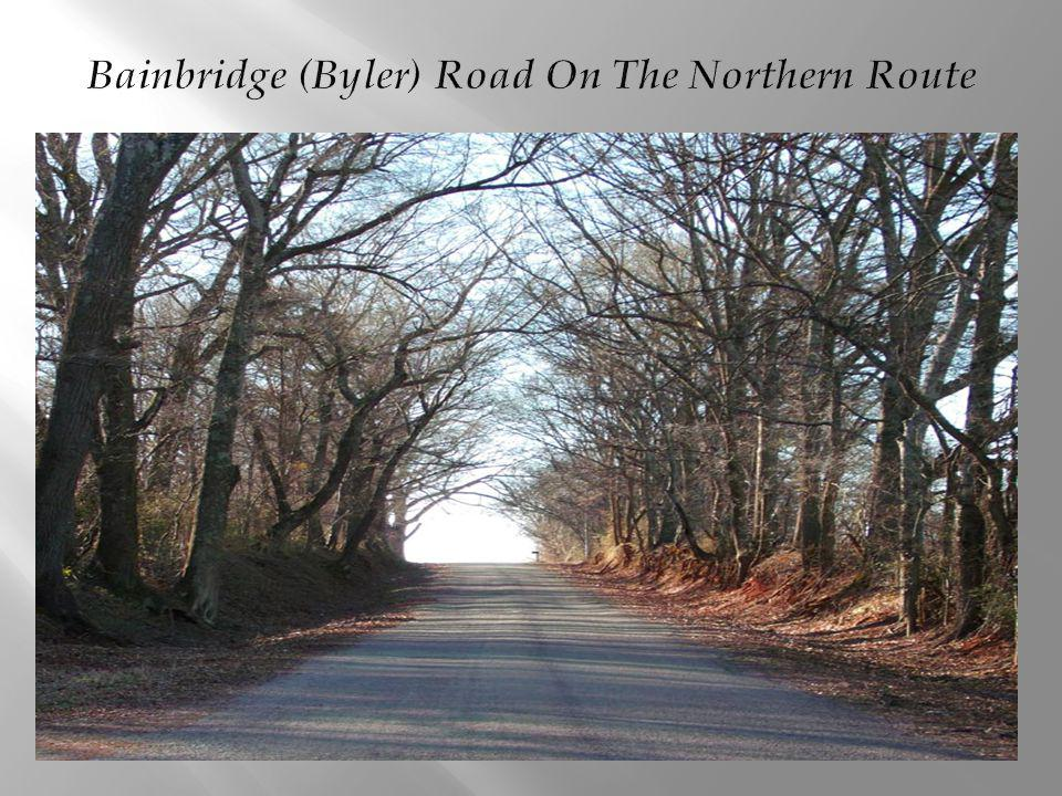 Bainbridge (Byler) Road On The Northern Route