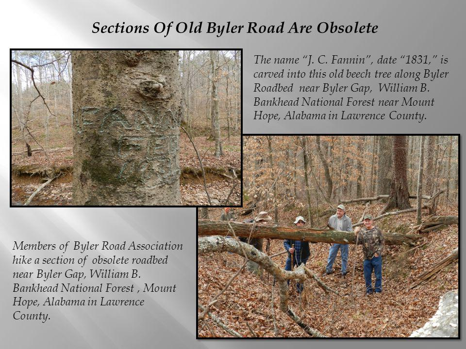 Sections Of Old Byler Road Are Obsolete