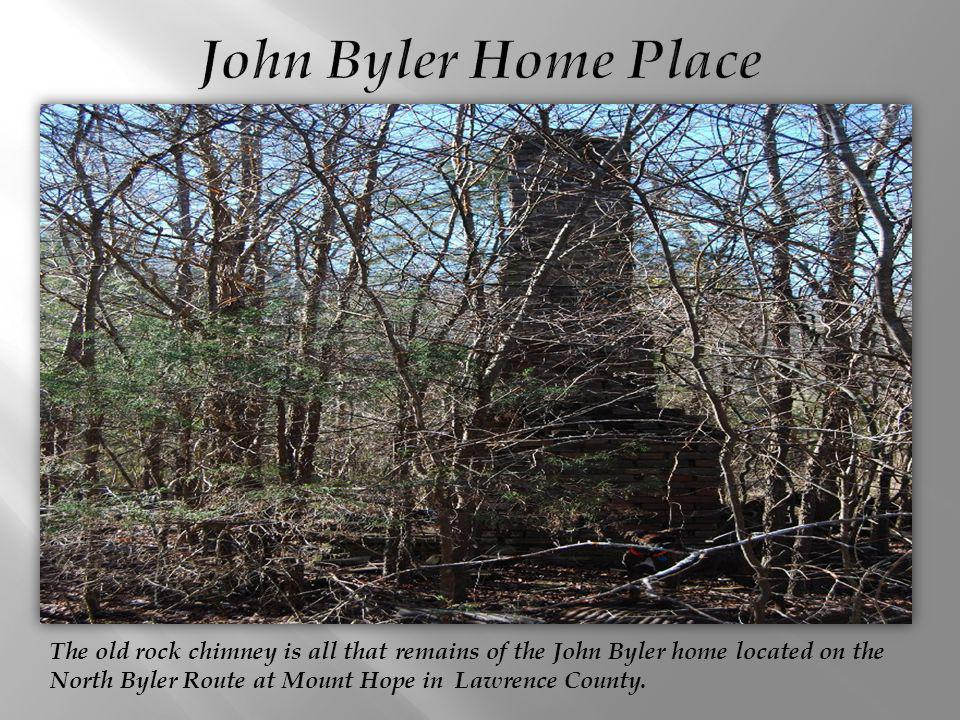 John Byler Home Place