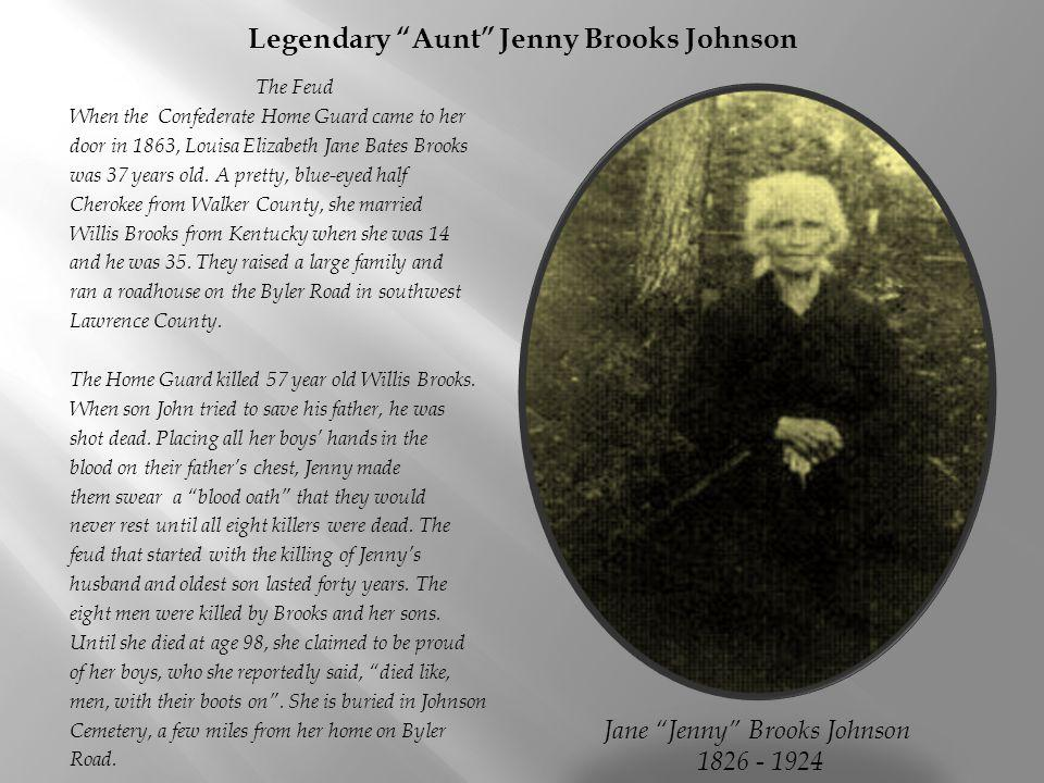 Legendary Aunt Jenny Brooks Johnson