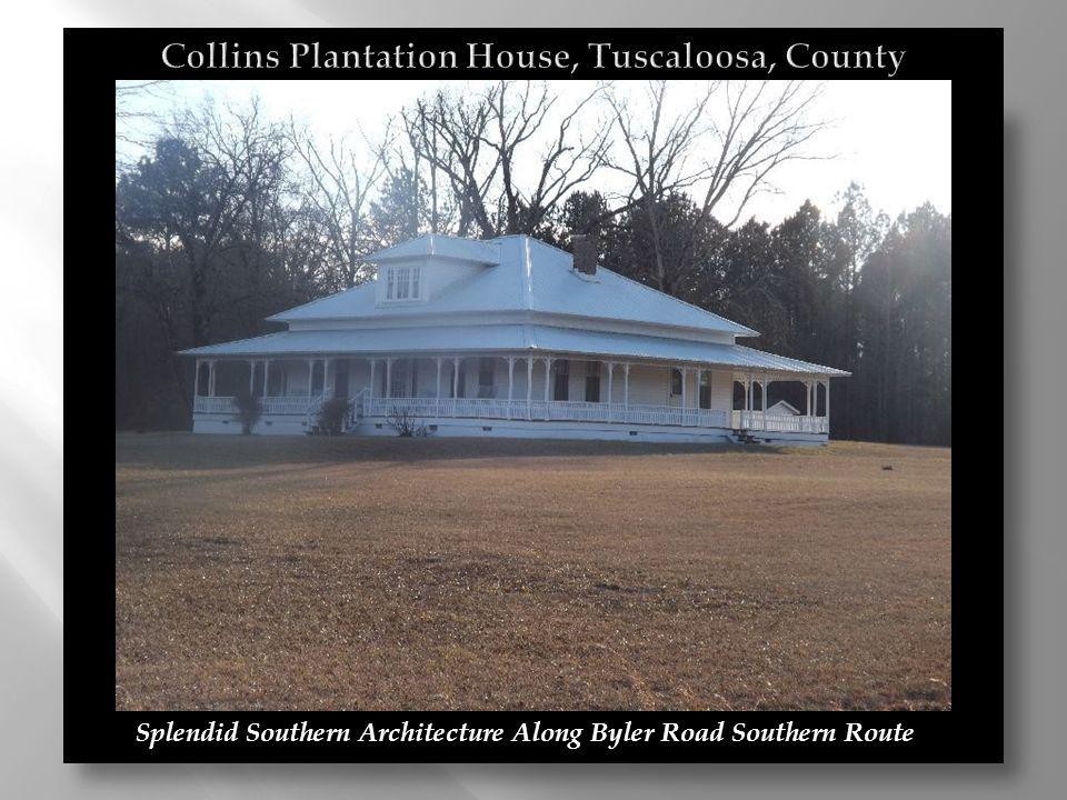 Collins Plantation House, Tuscaloosa, County