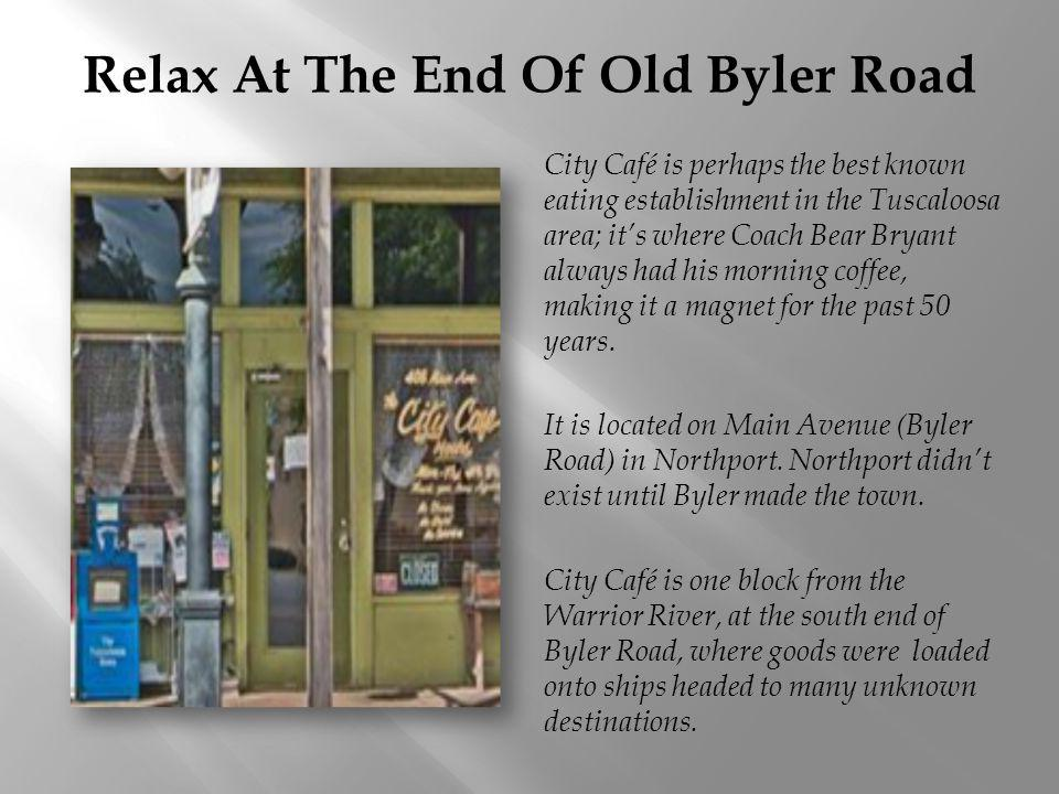 Relax At The End Of Old Byler Road