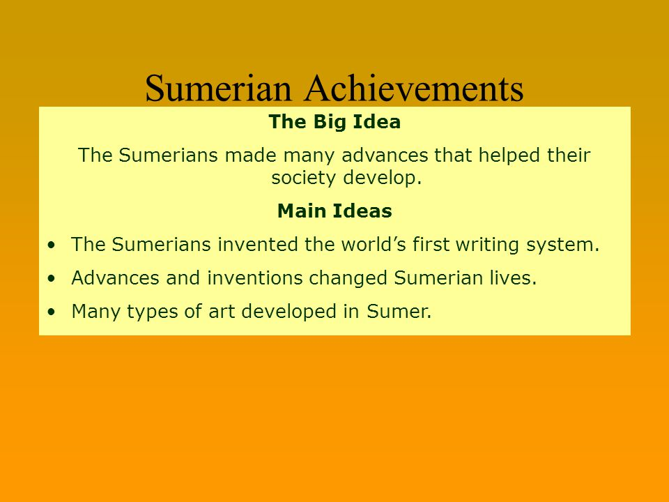 Sumer mesopotamia writing and literature