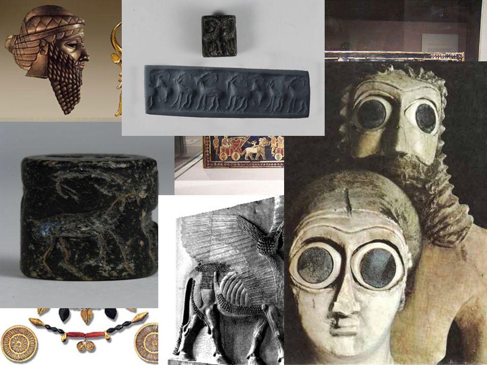Main Idea 3: Many types of art developed in Sumer.
