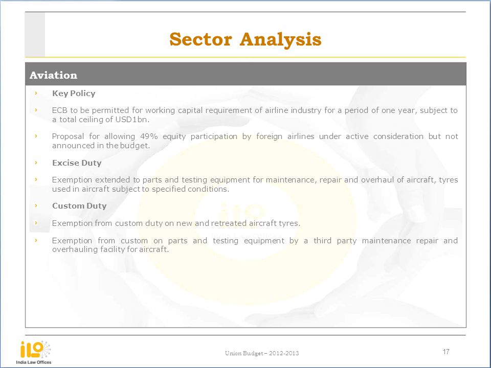 Sector Analysis Aviation Key Policy