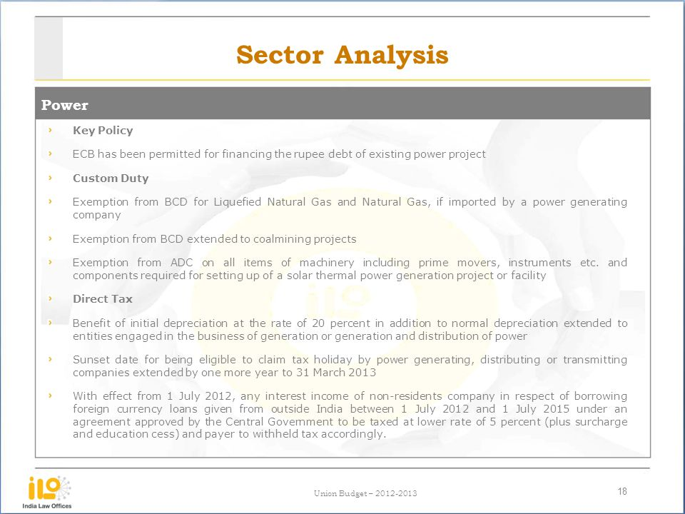 Sector Analysis Power Key Policy