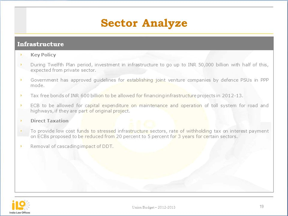 Sector Analyze Infrastructure Key Policy