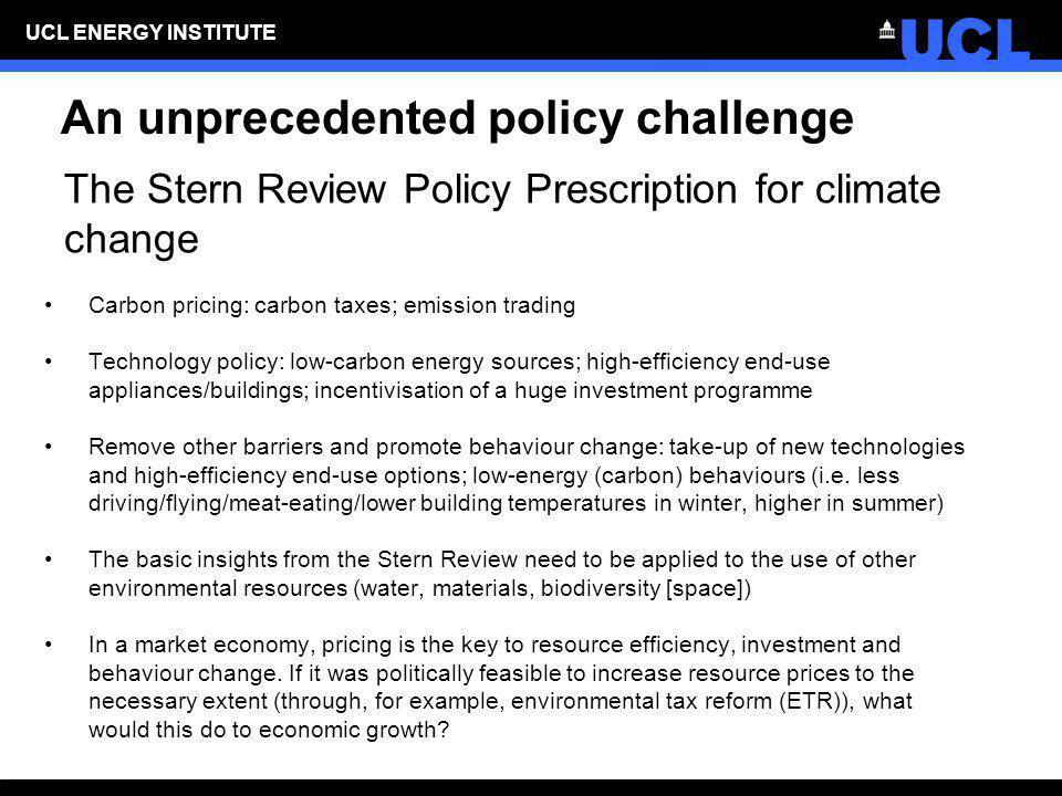An unprecedented policy challenge