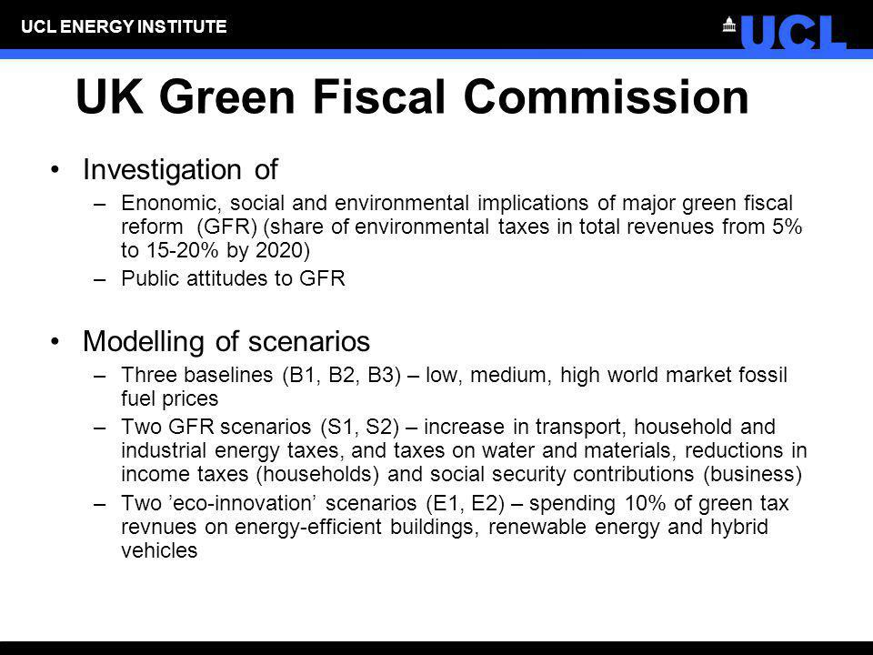 UK Green Fiscal Commission