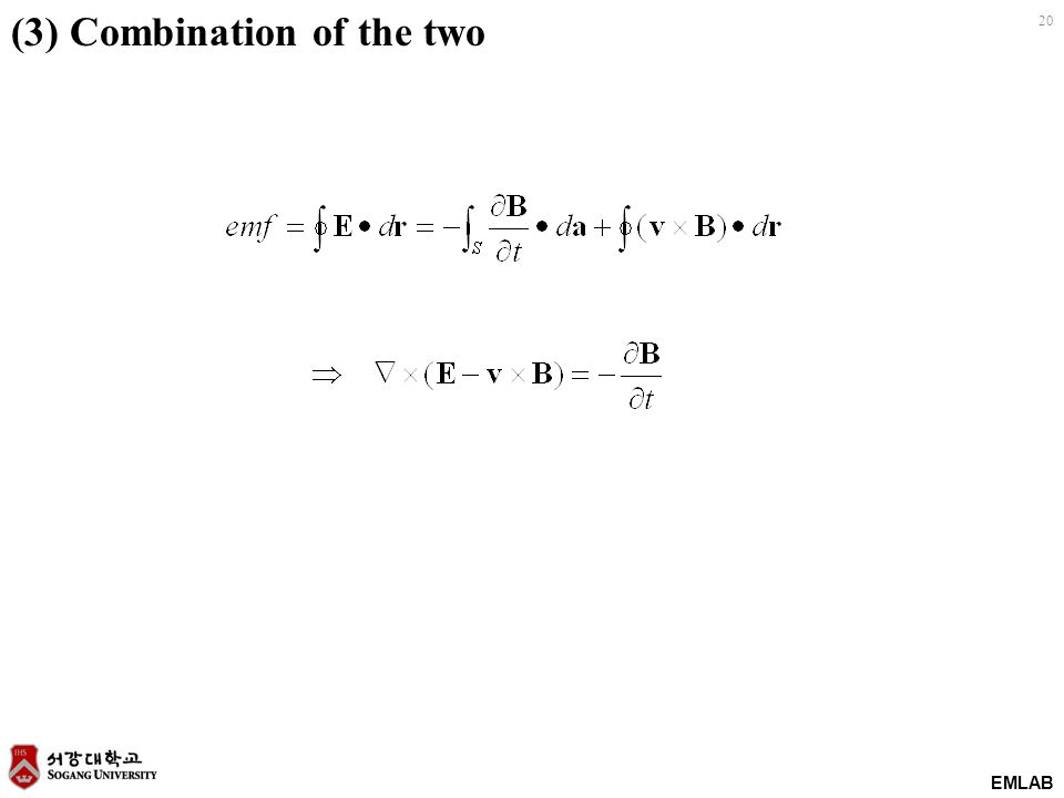 (3) Combination of the two