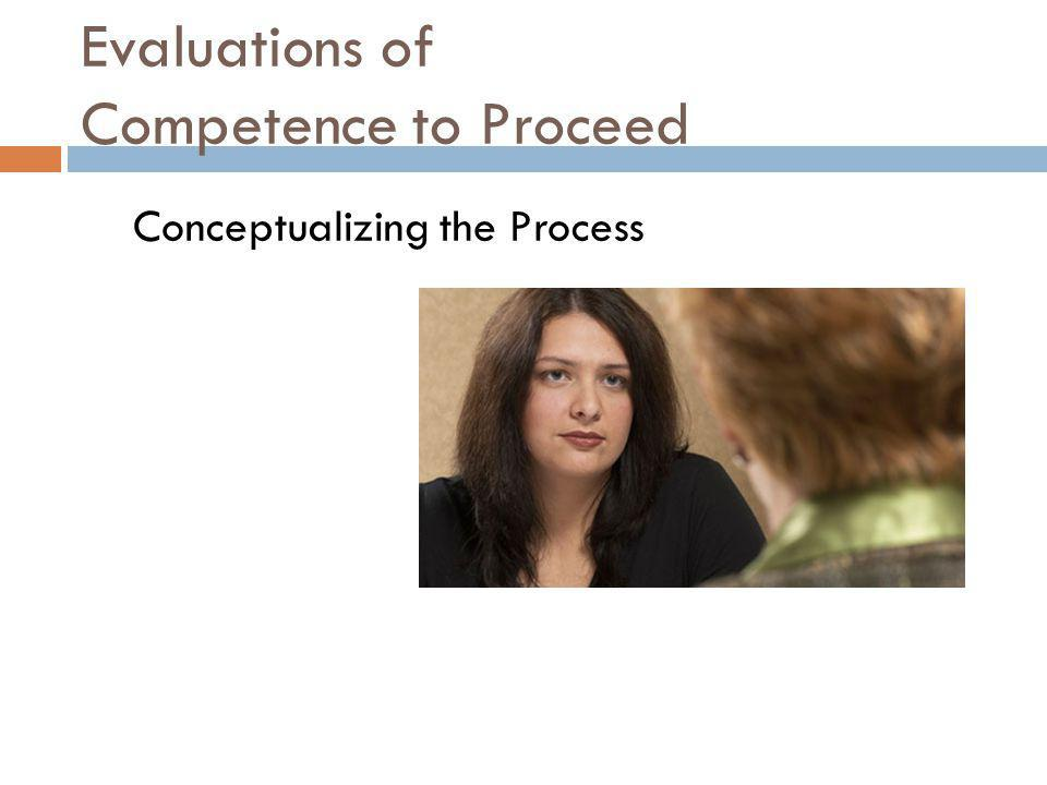 Evaluations of Competence to Proceed